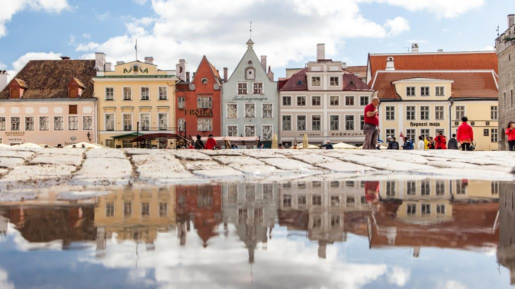 Tallin Old Town Square