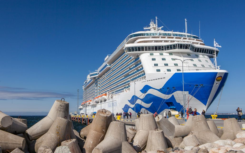 Princess Cruises in Tallinn