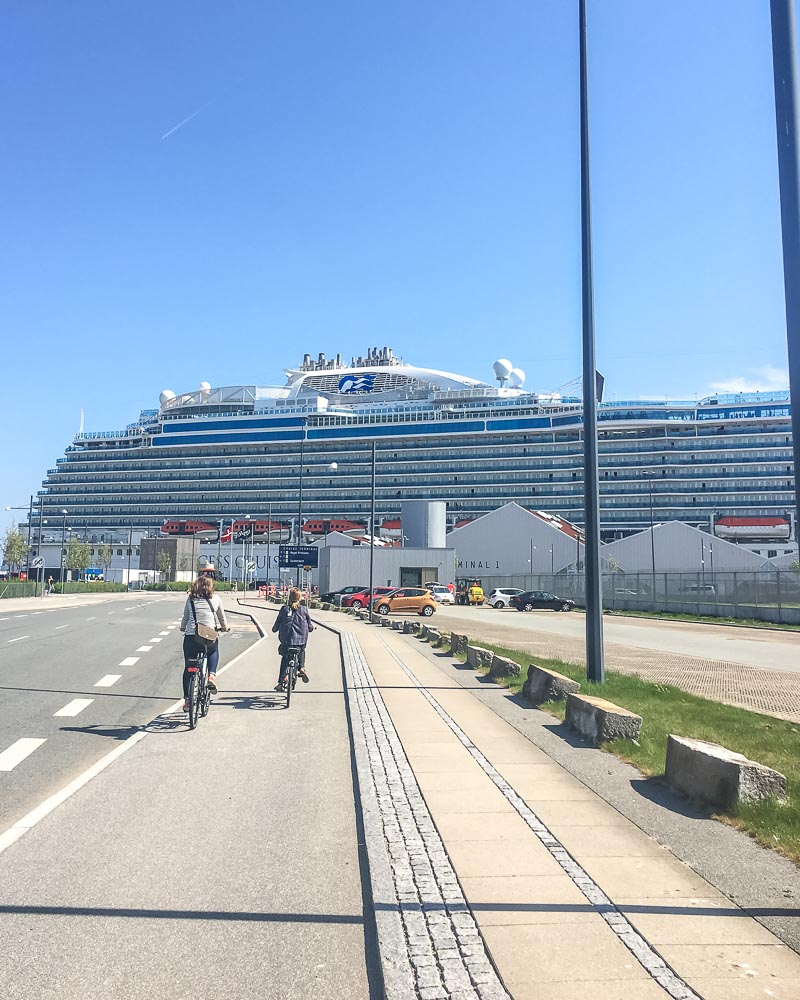 Cycling cruise tour Copenhagen