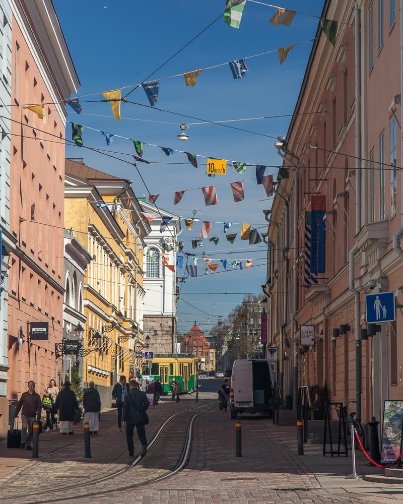 Cute Streets in Helsinki