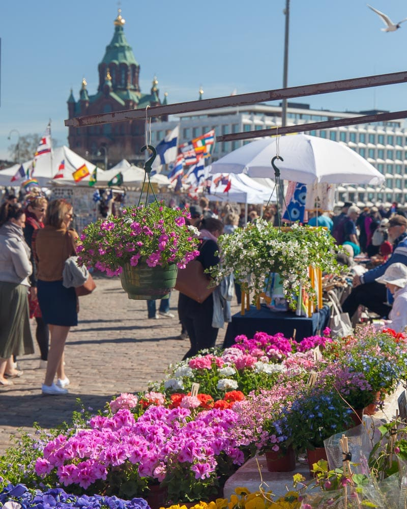 Markets in Helsinki