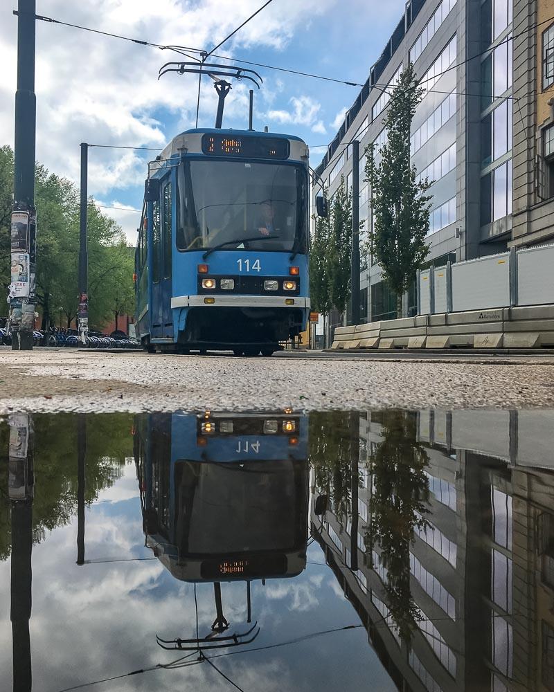 Trams in Oslo