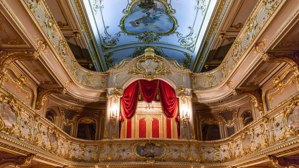 Theatre inside Yusupov Palace