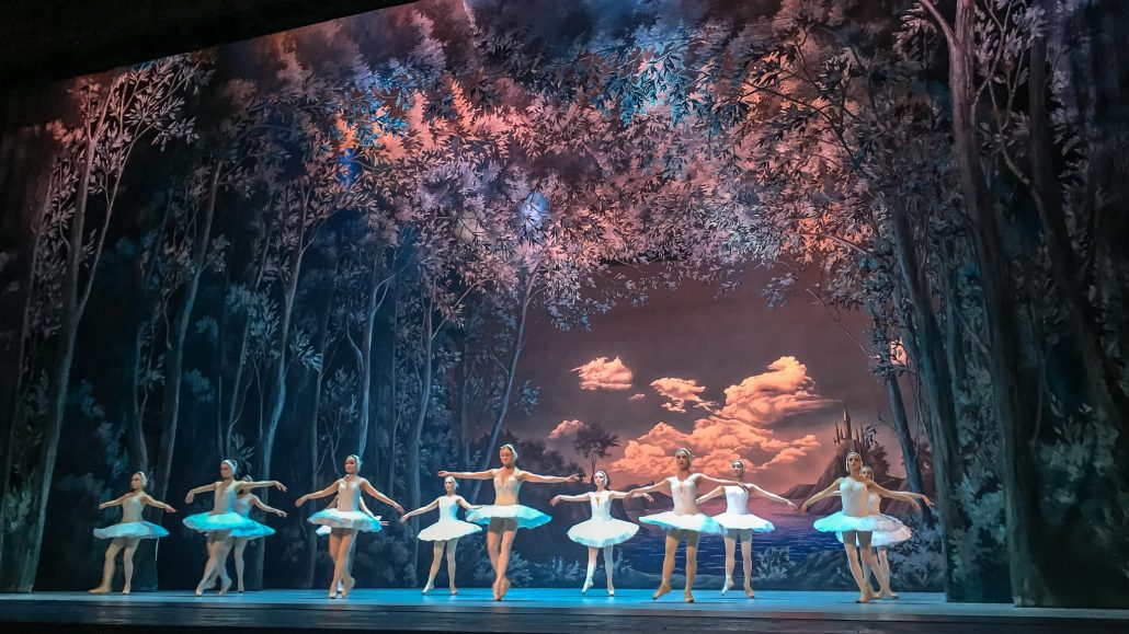 Swan Lake at the Russian Ballet