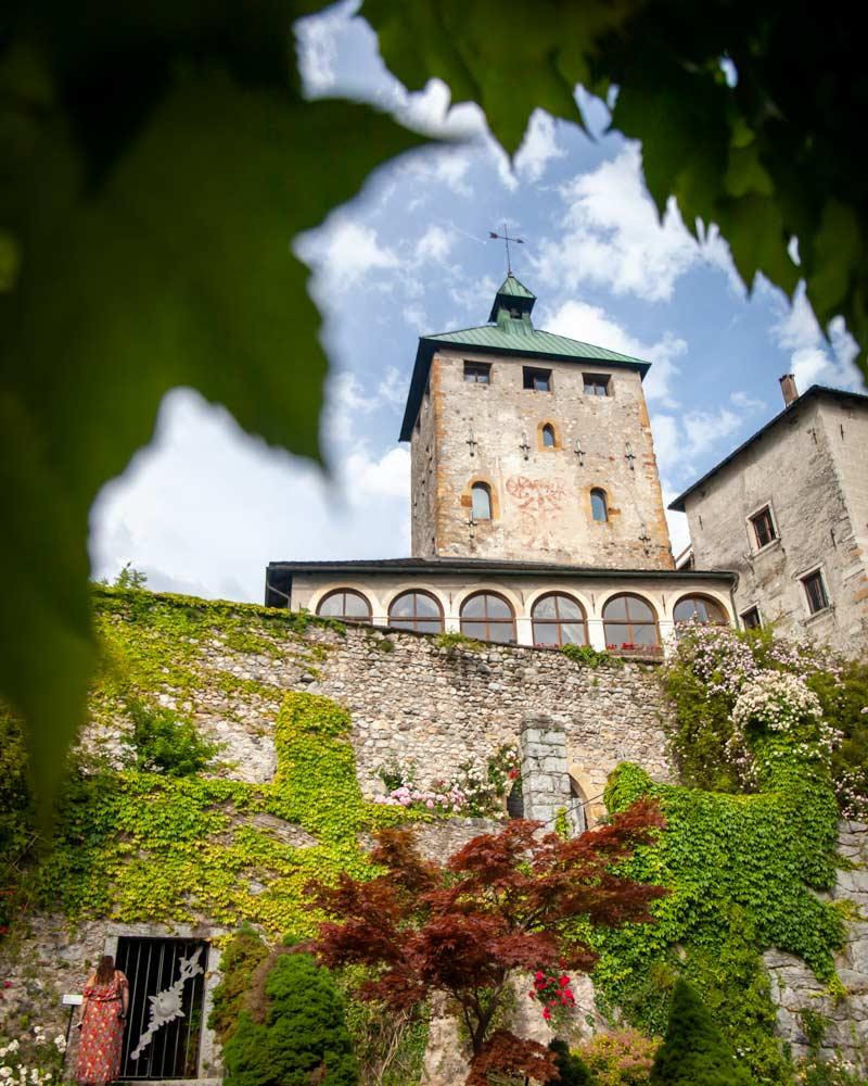 Castles in valsugana trentino