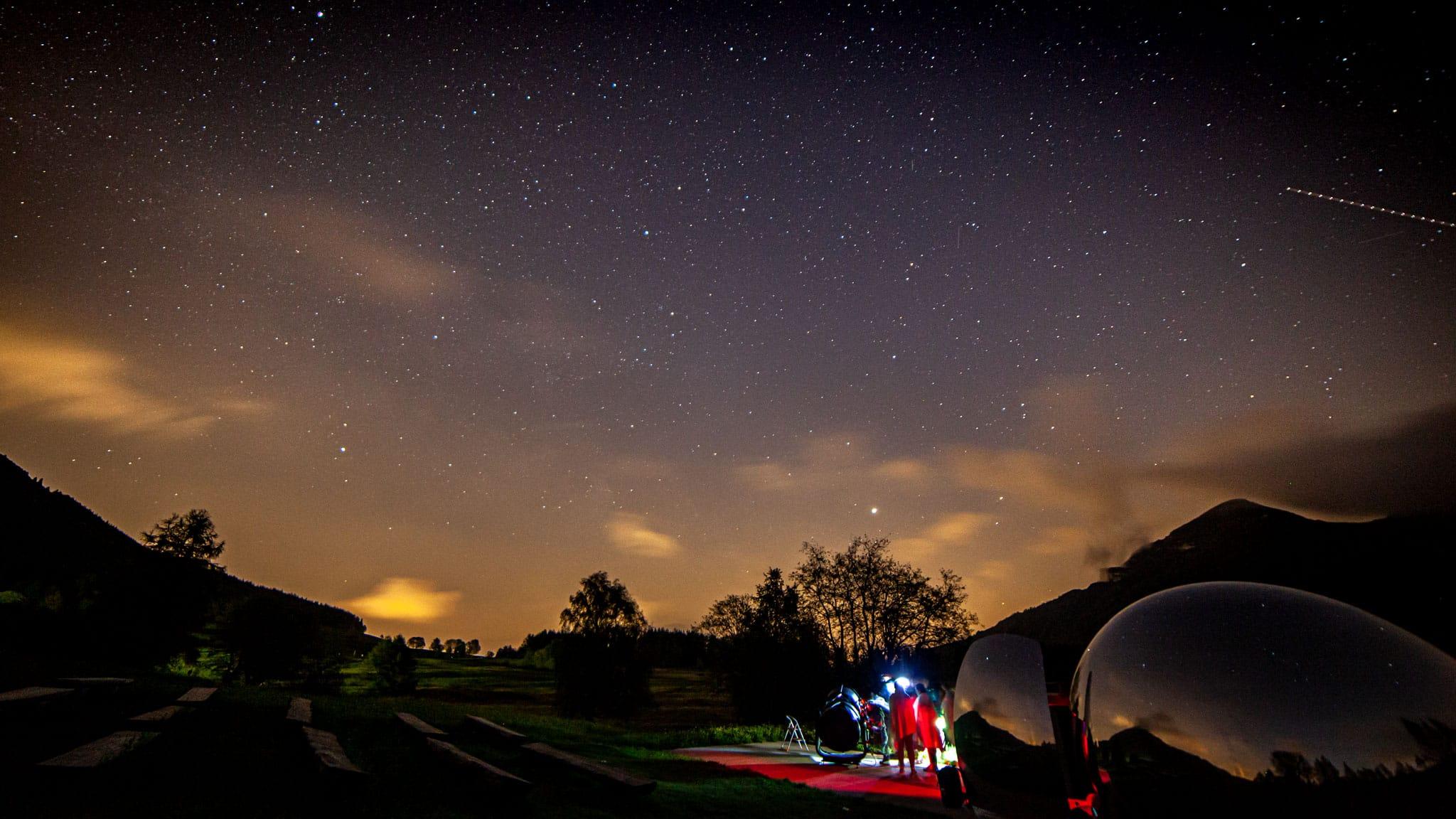 Star gazing in Trentino