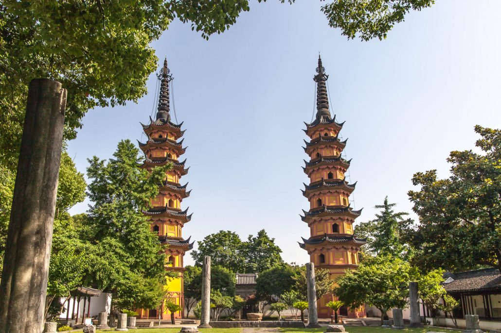 Temples in Suzhou