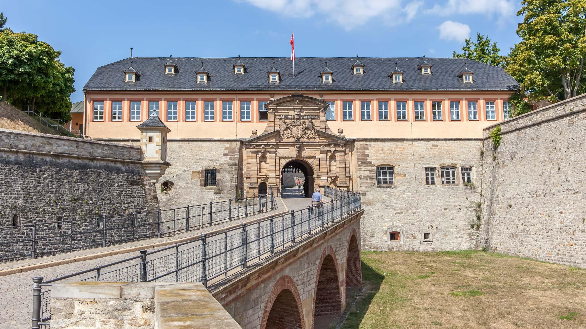 citadel Erfurt Thuringia