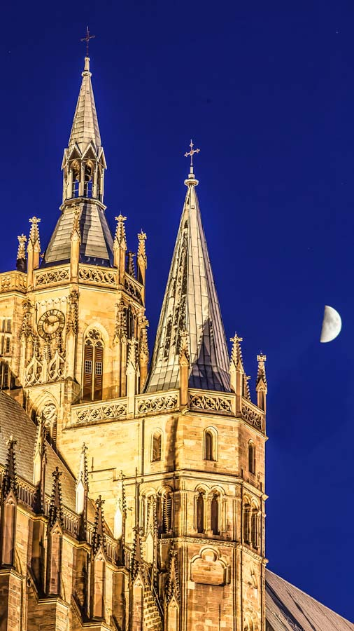 cathedral Erfurt Thuringia