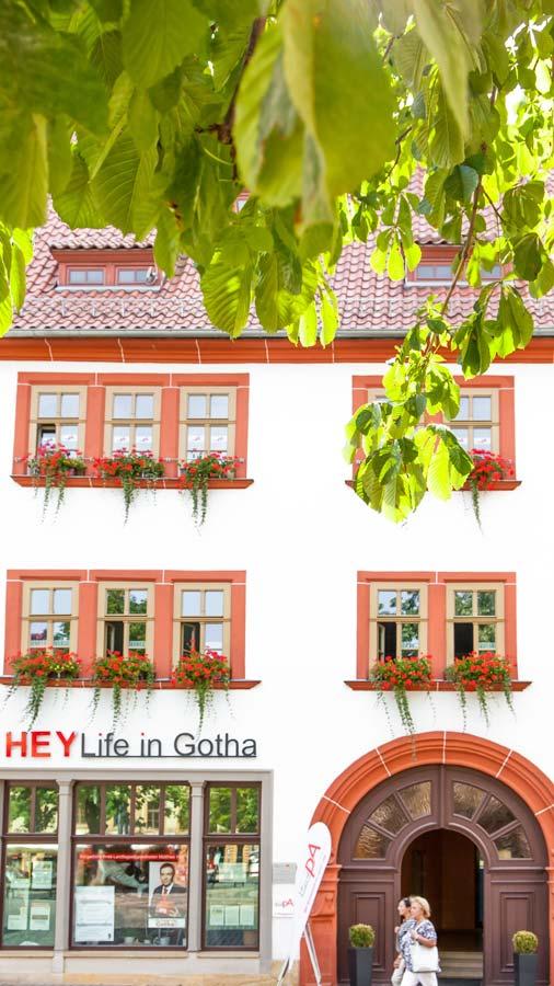Shops in Gotha Thuringia