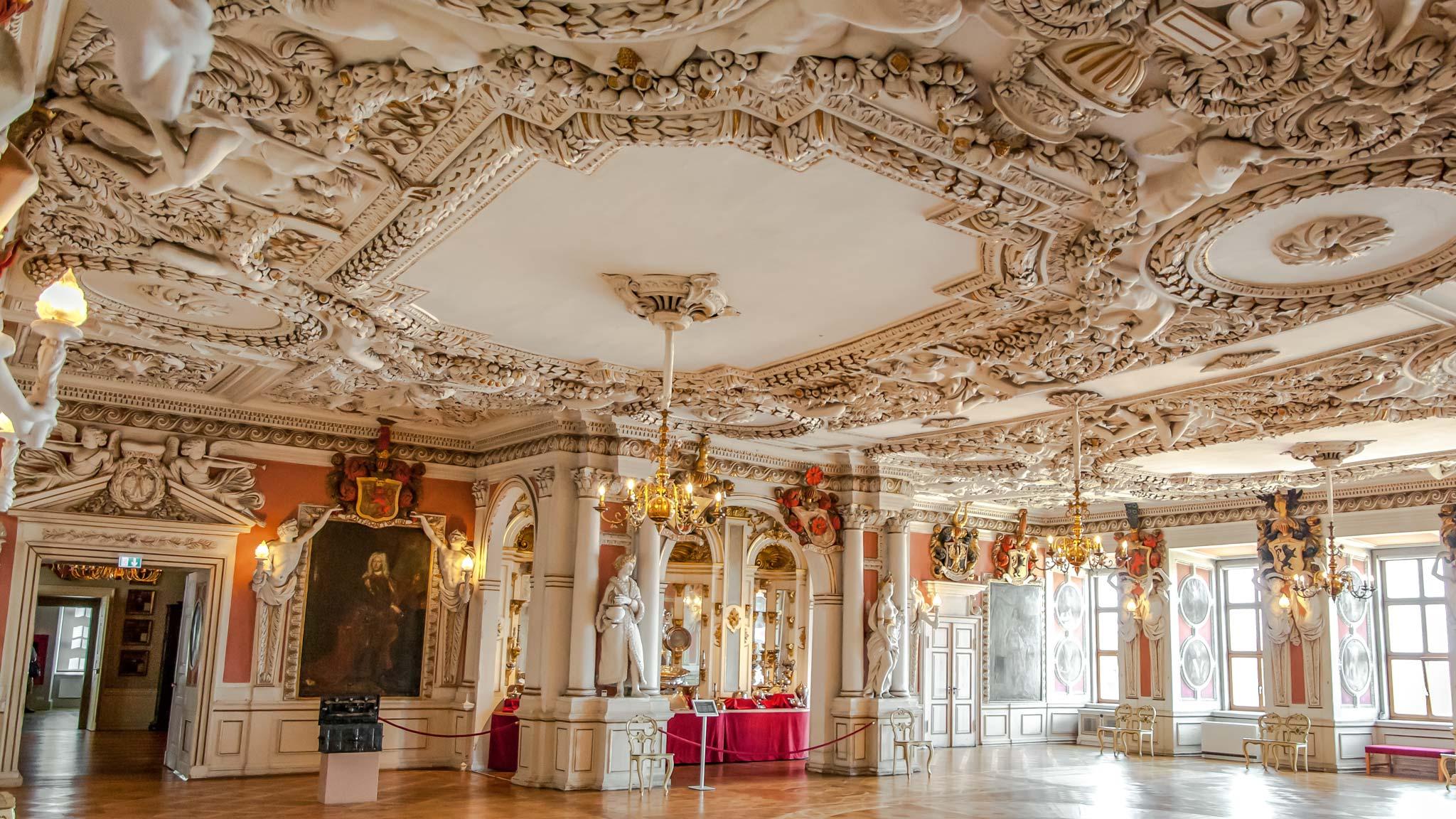 Palace inside Gotha Thuringia