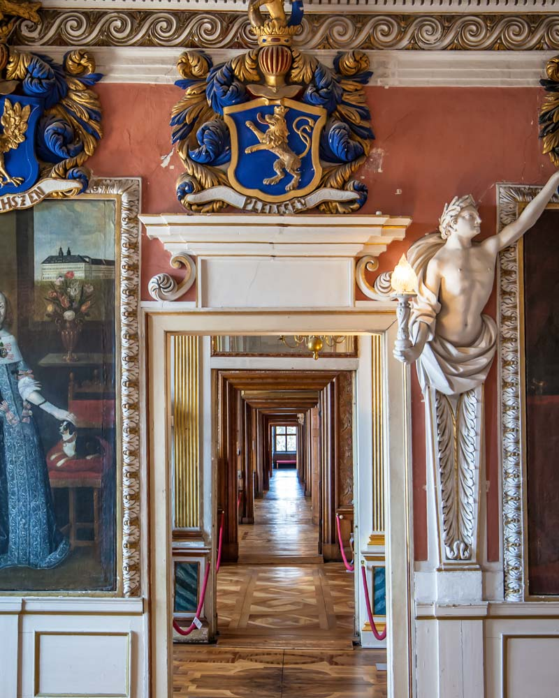 Palace artwork Gotha Thuringia