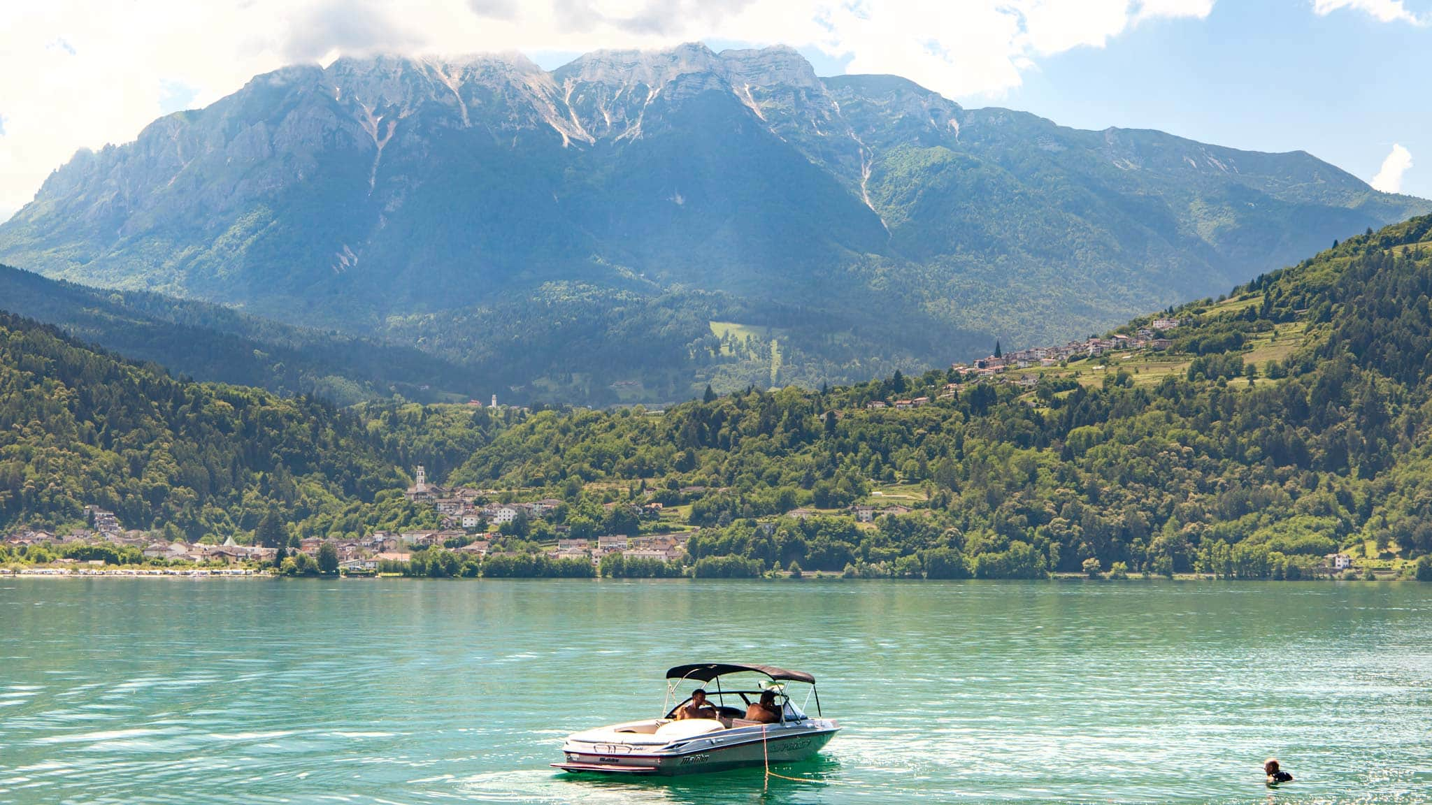 Watersport's are a huge part of Valsugana