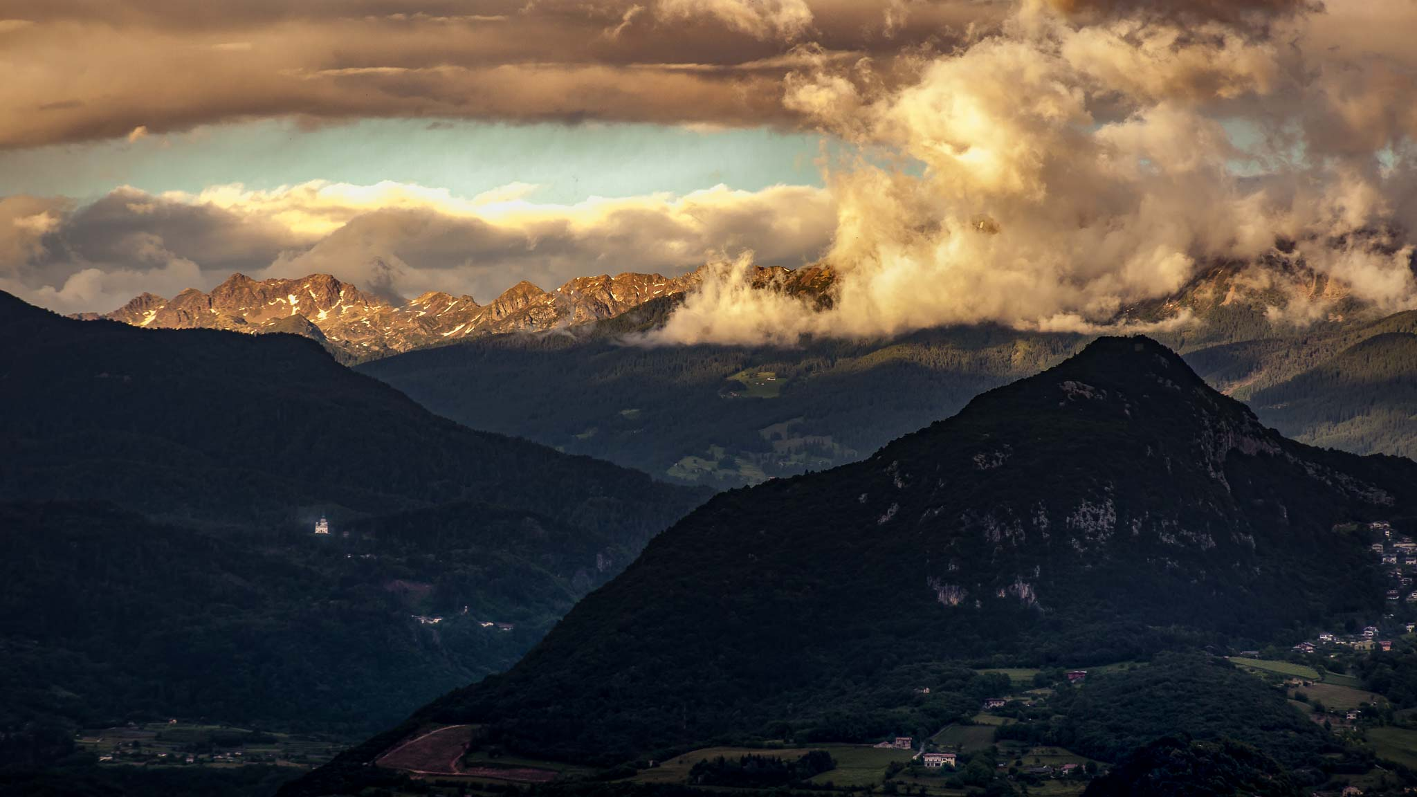 Sunsets in Trento