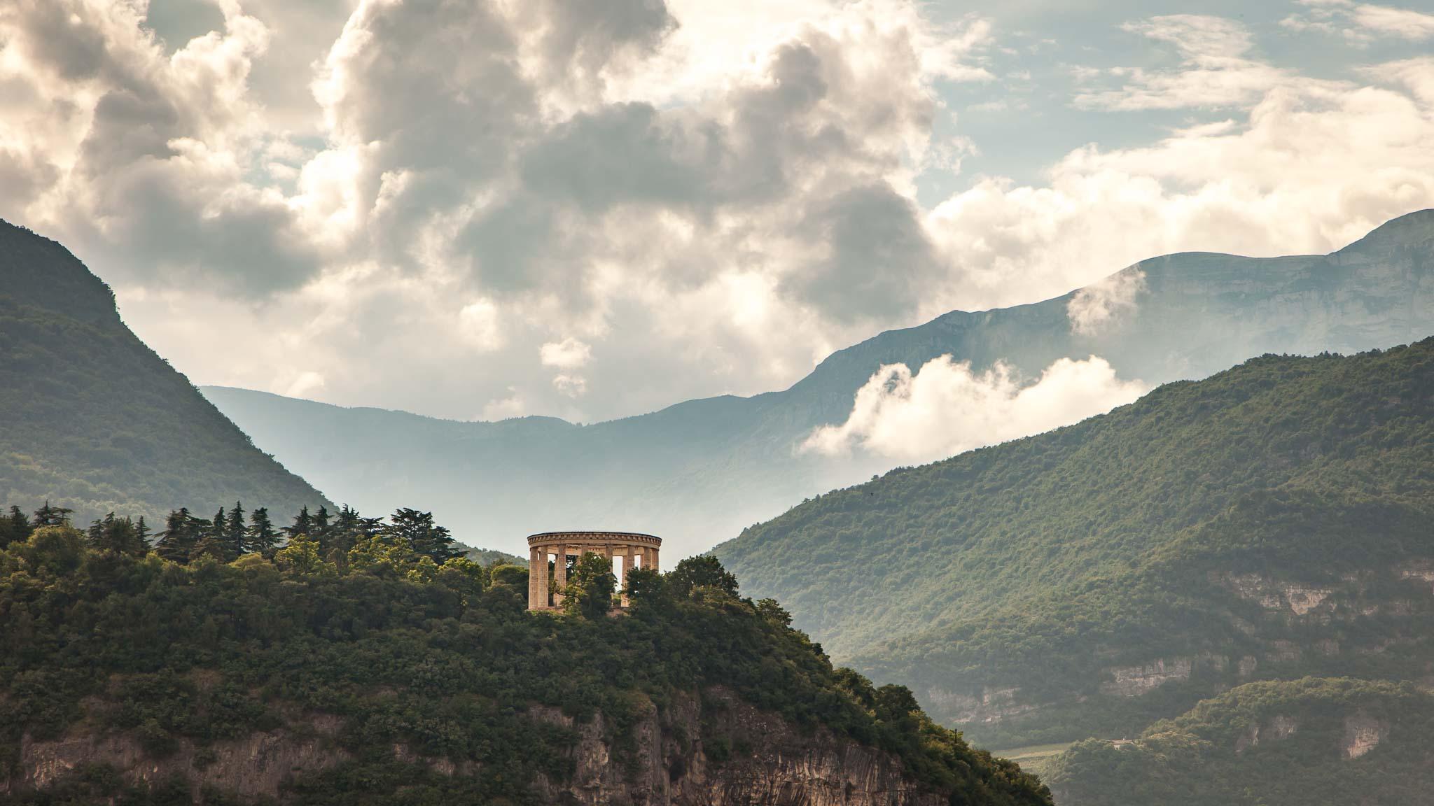 Roman architecture in Trento