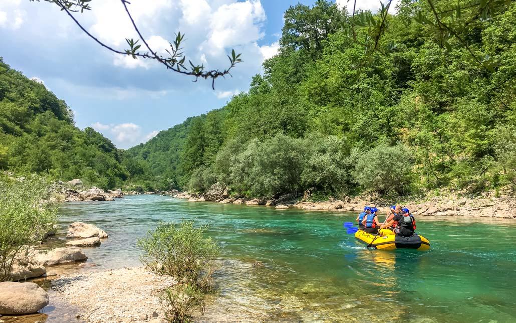 Visit Konjic rafting