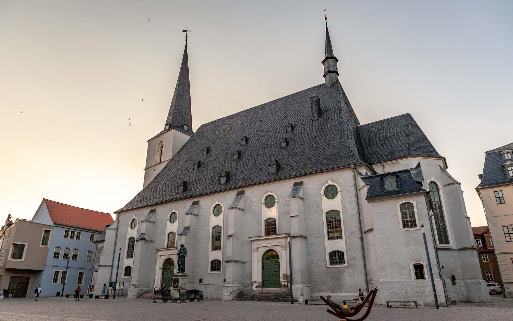 church Weimar Thuringia