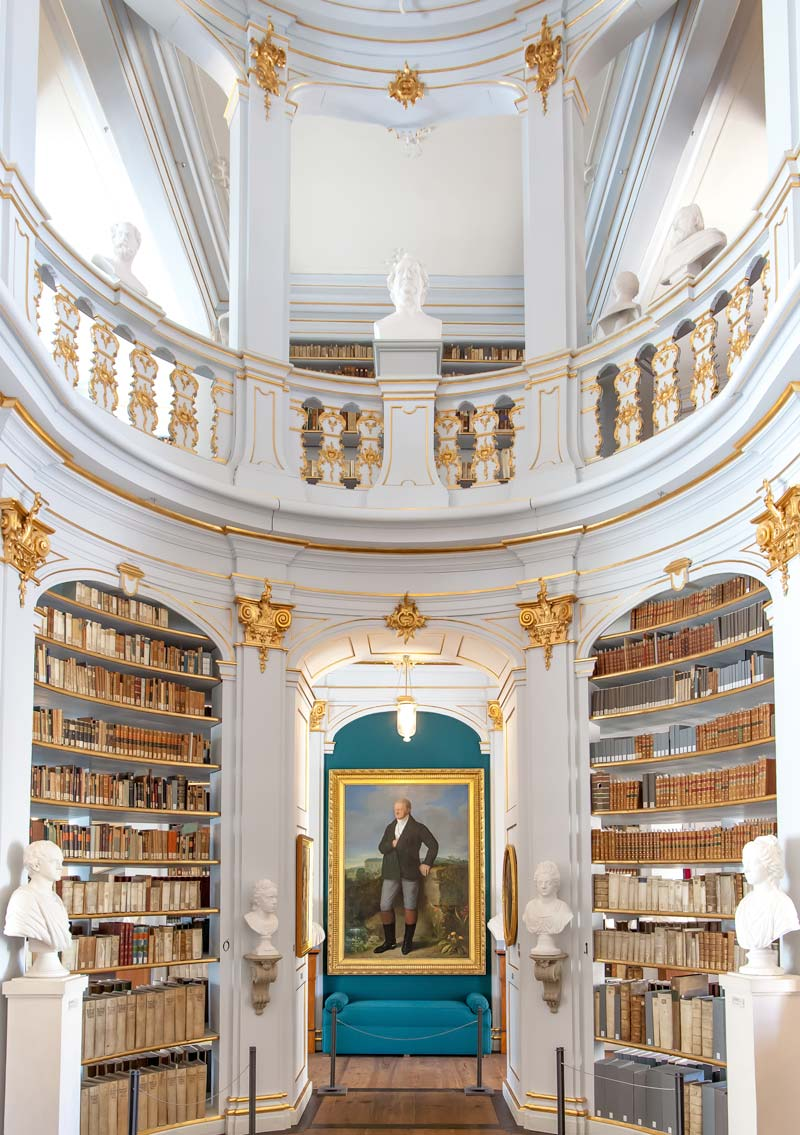 Library Weimar Thuringia