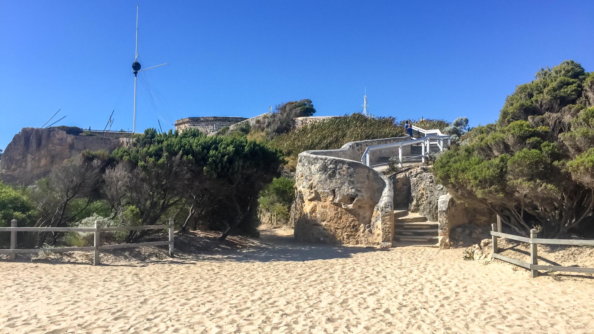 Beaches in Fremantle