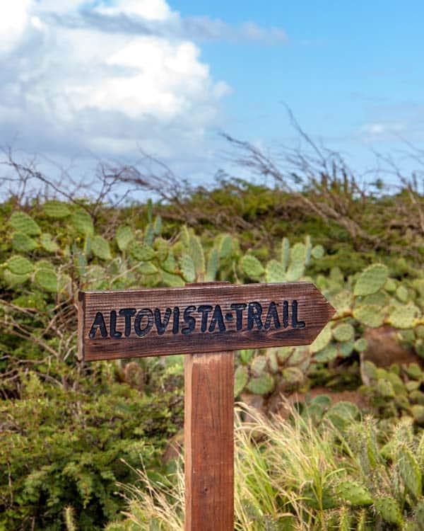 Altoavista Trail Aruba