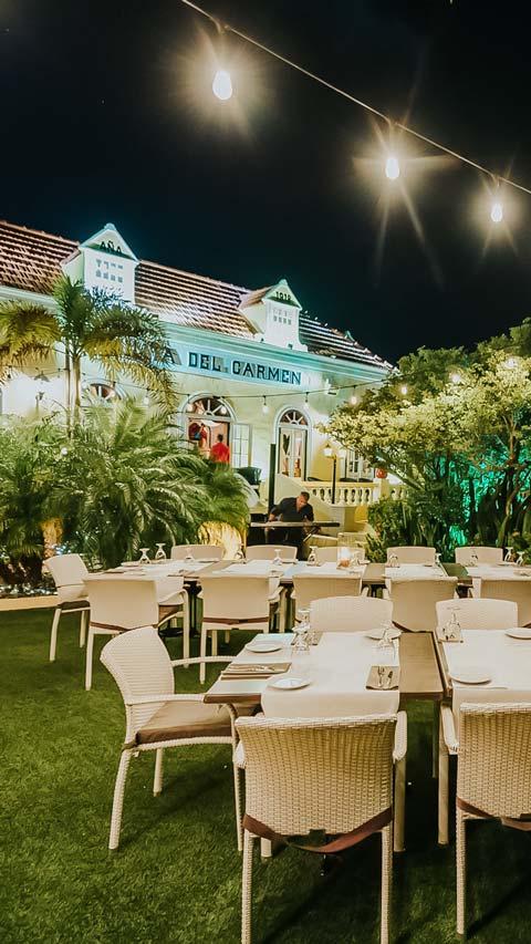 Aruba Quinta Del Carmen Restaurant
