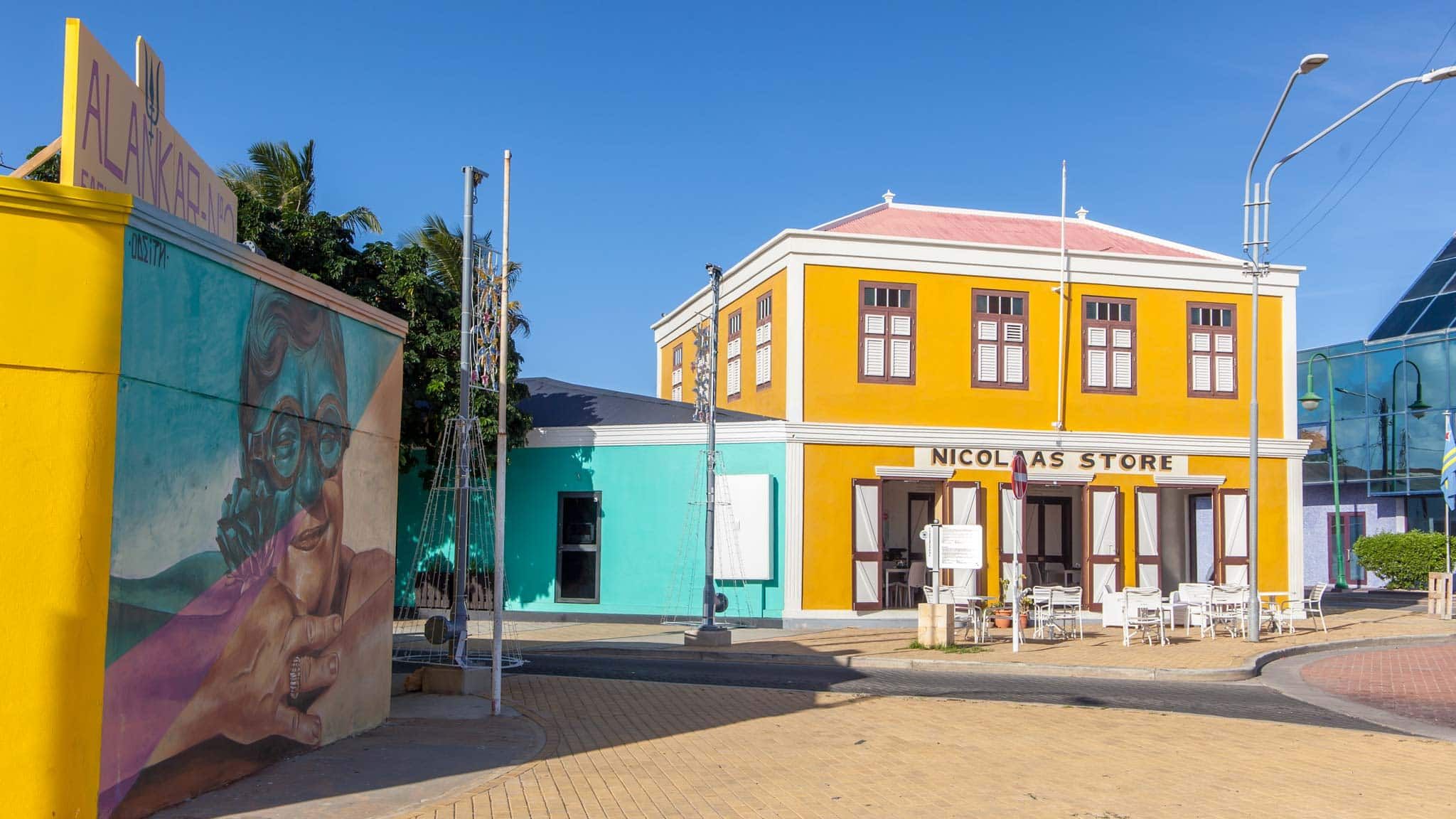 Colourful streets of San Nicolas