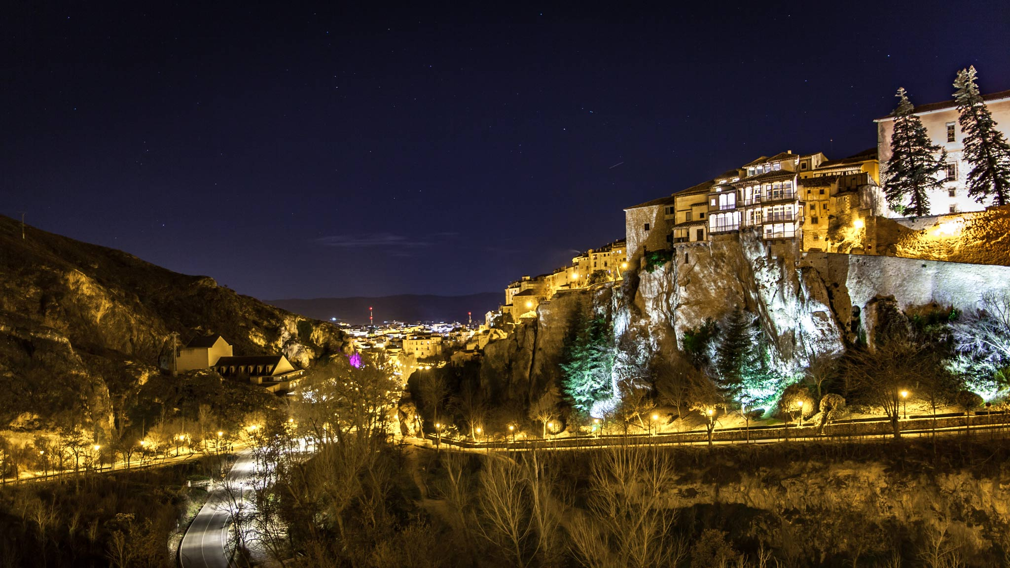 Cuenca Spain Night