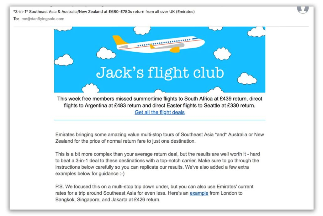 Jacks Flight Club