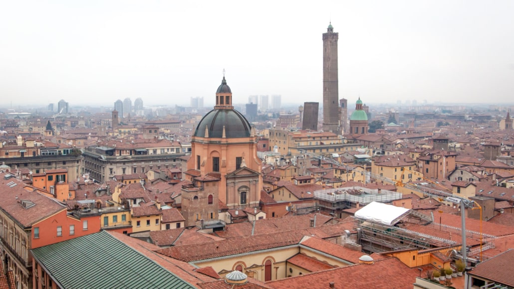 Rooftops of Bologna