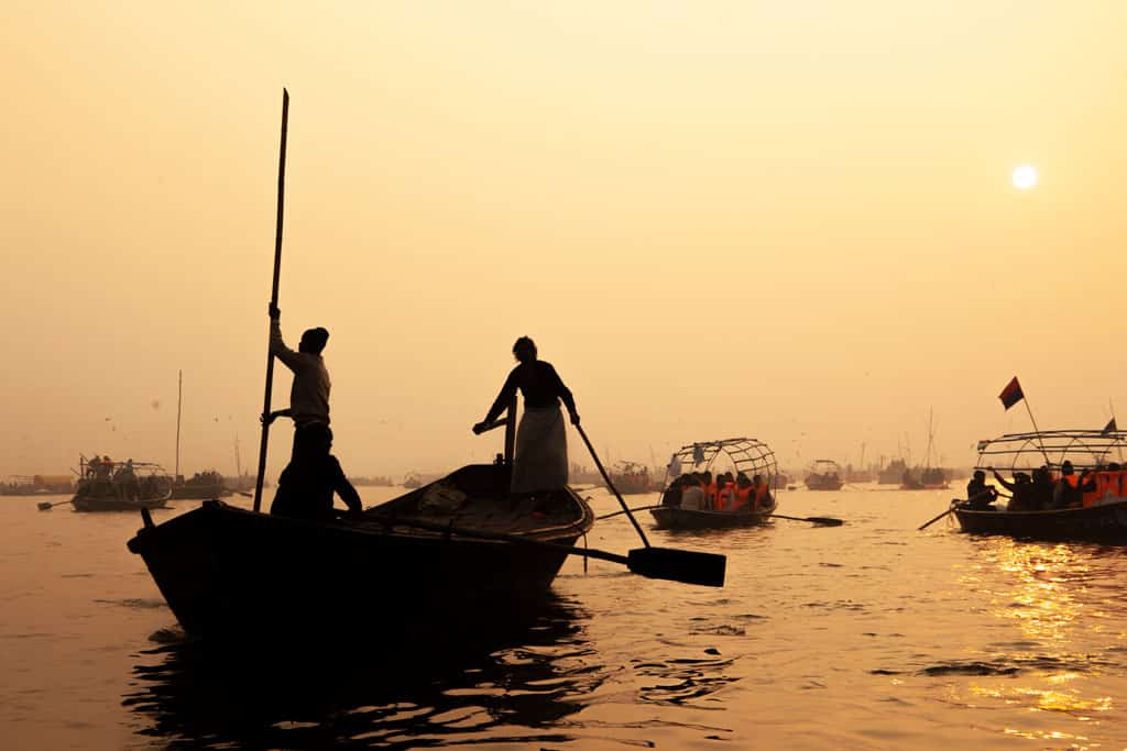Kumbh Mela Boat Ride