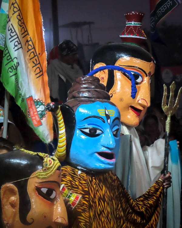Costumes at the Kumbh Mela