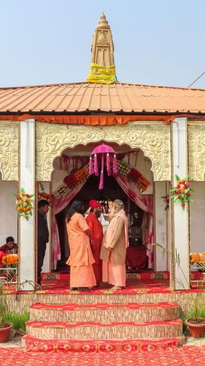 Kumbh Mela Temple