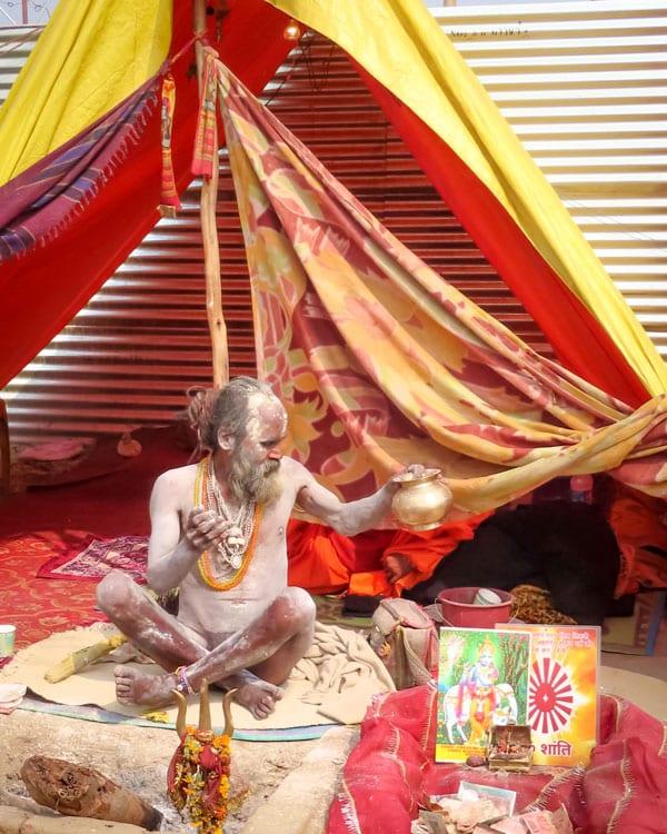 Kumbh Mela Naga Sadhu