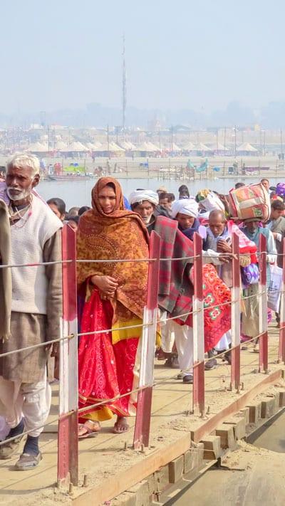 Kumbh Mela Pilgrims