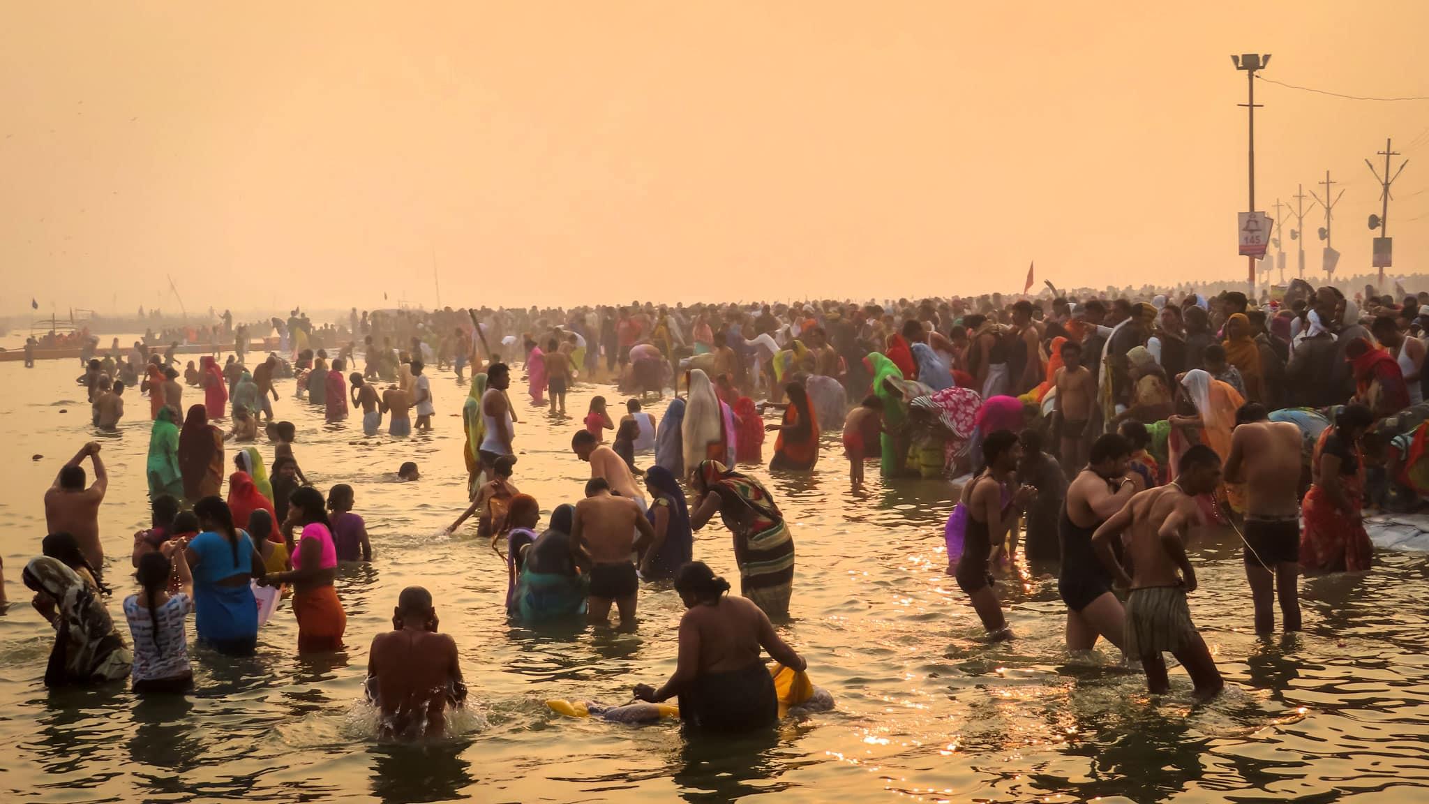 Kumbh Mela Sunrise