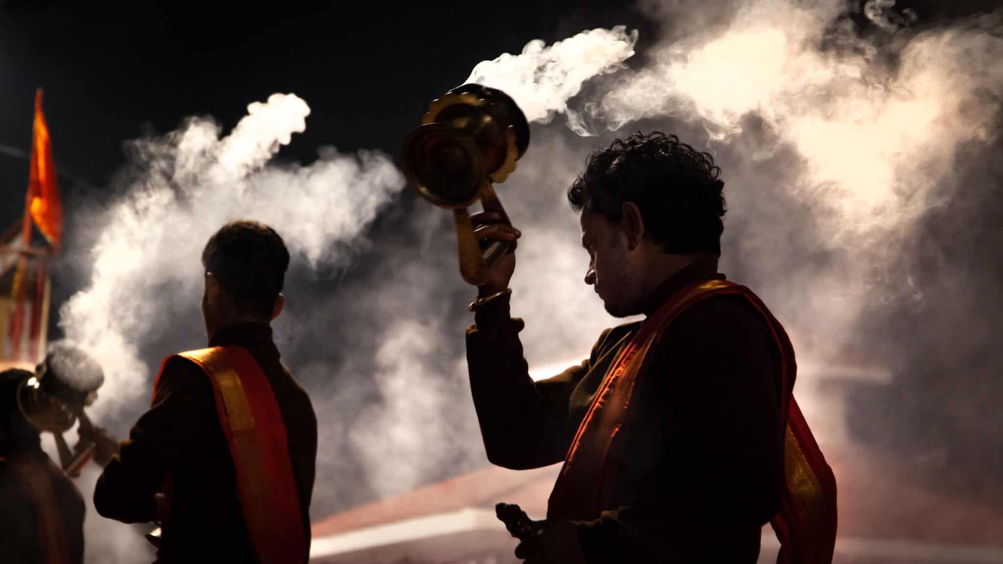 Subah e Banaras morning ceremony