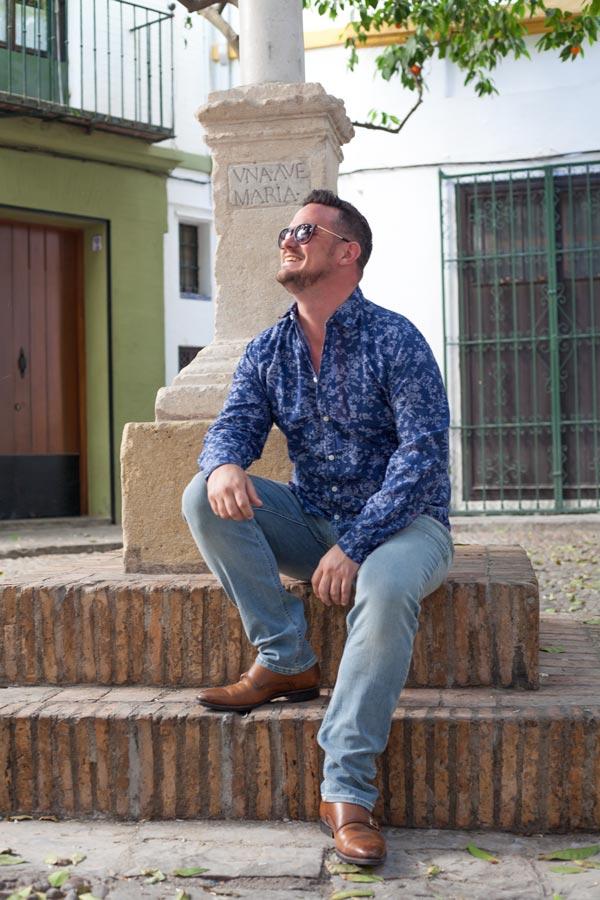 Dan in Seville