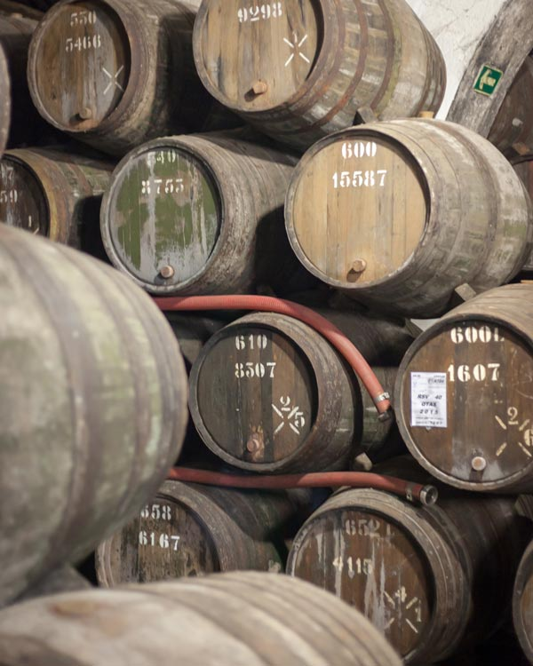 Port Barrels in Porto