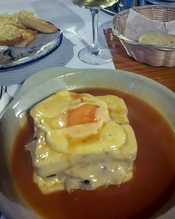 The francesinha