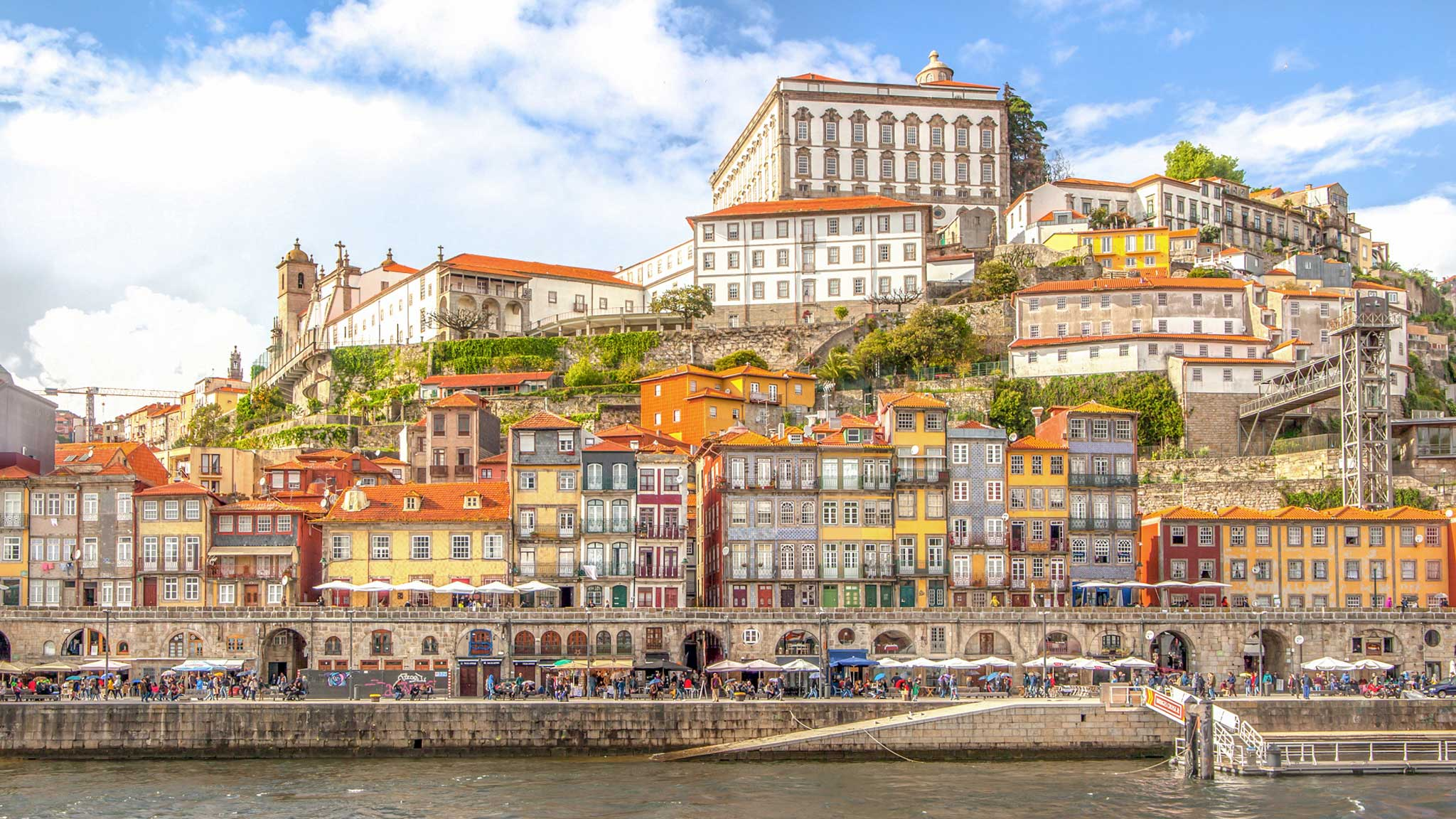 Porto as seen from the river