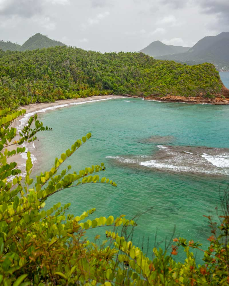 Batabou Beach in Dominica by Road