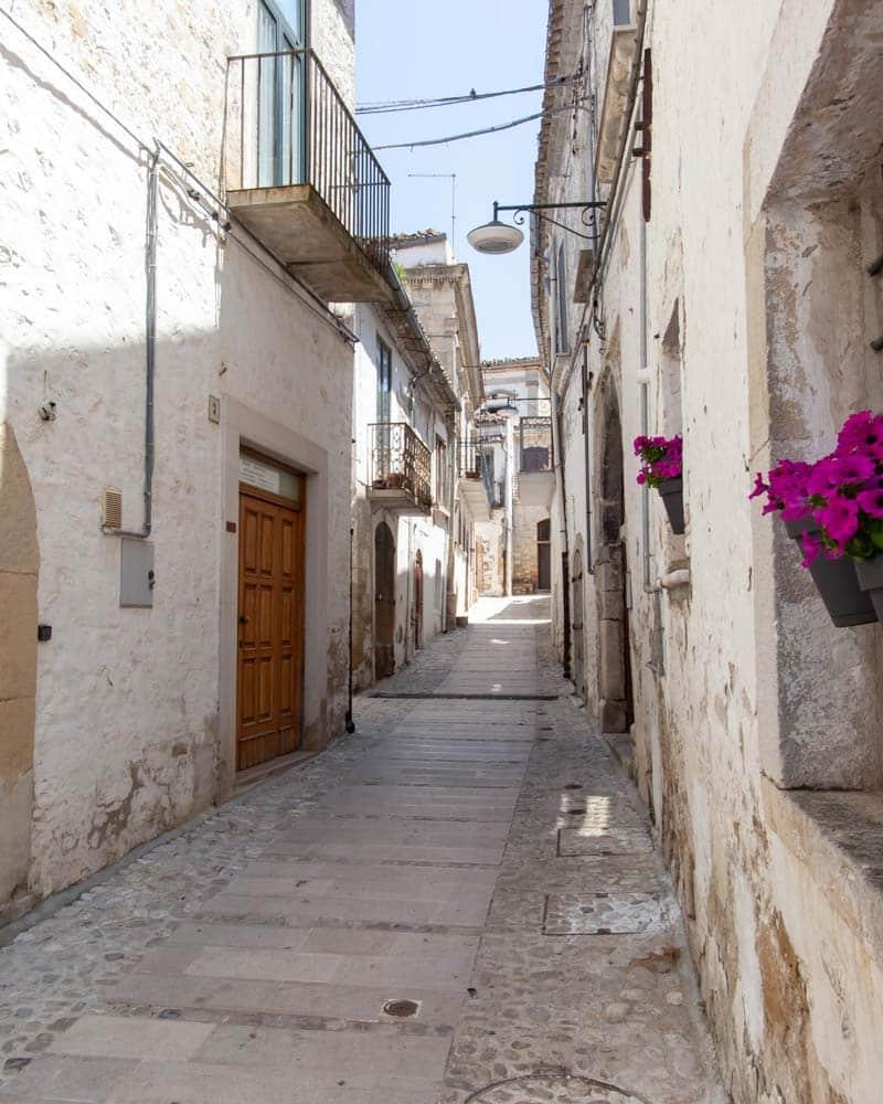 The streets of Bovino