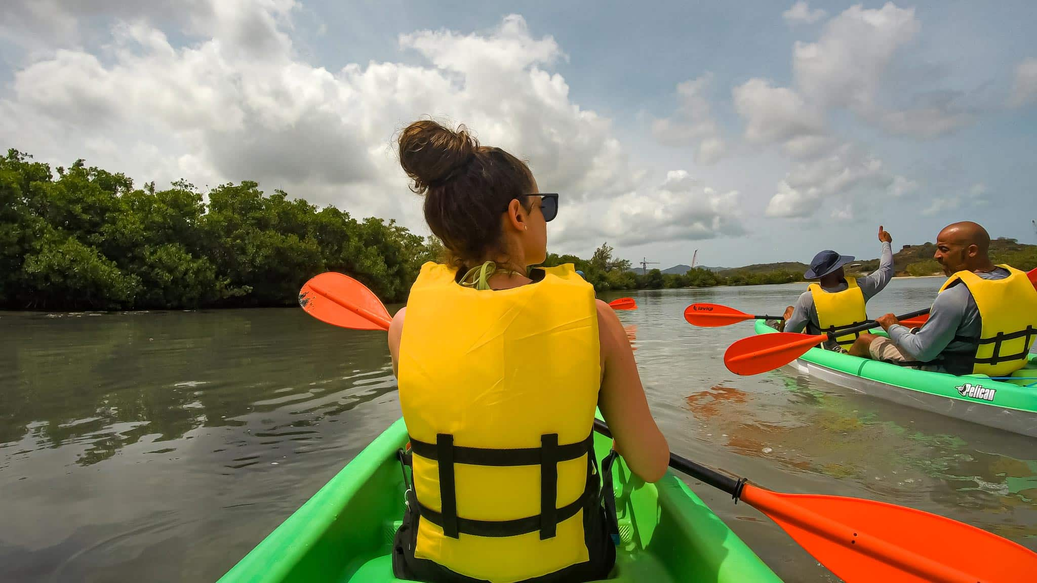 Kayaking through Mangroves in Antigua