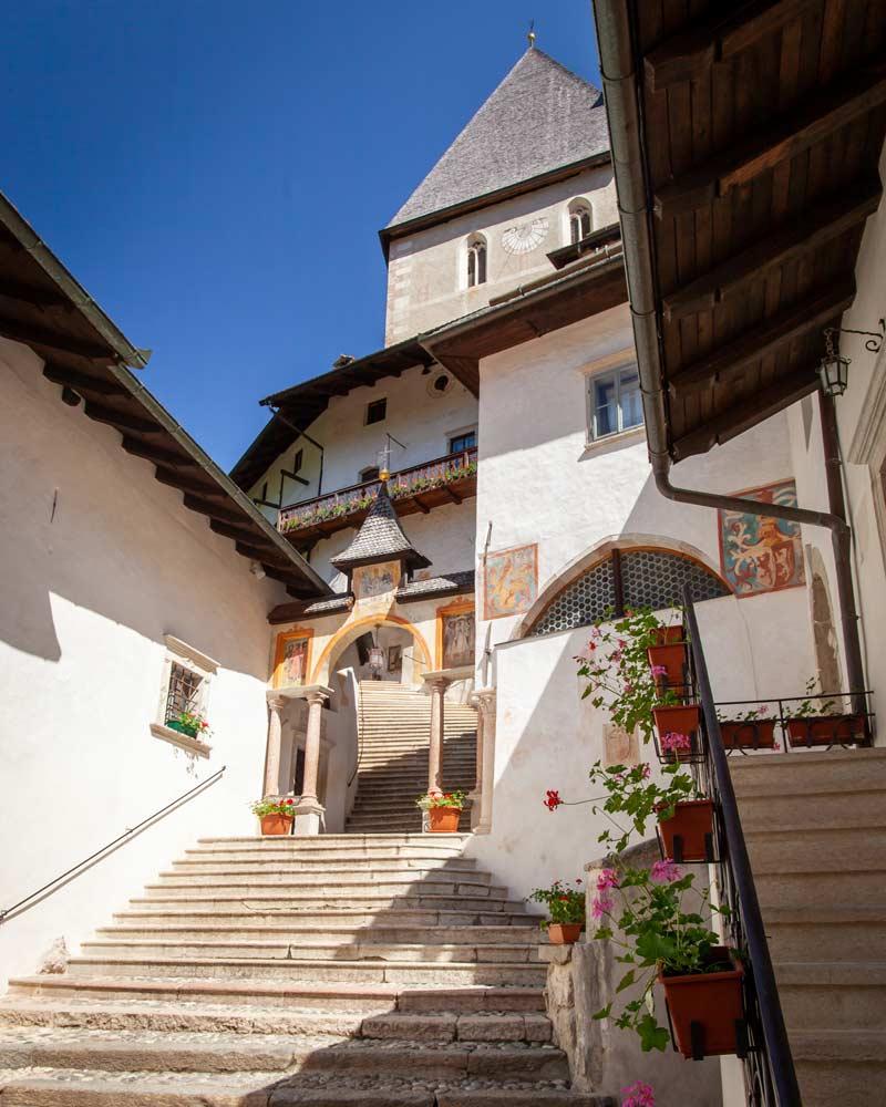 St Romedieus Shrine in Val Di Non