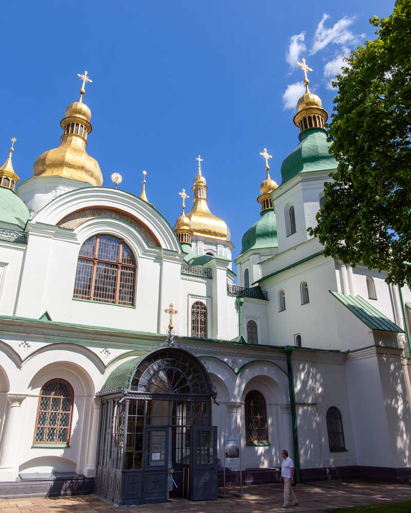 Kyiv Architecture St Sophias Cathedral