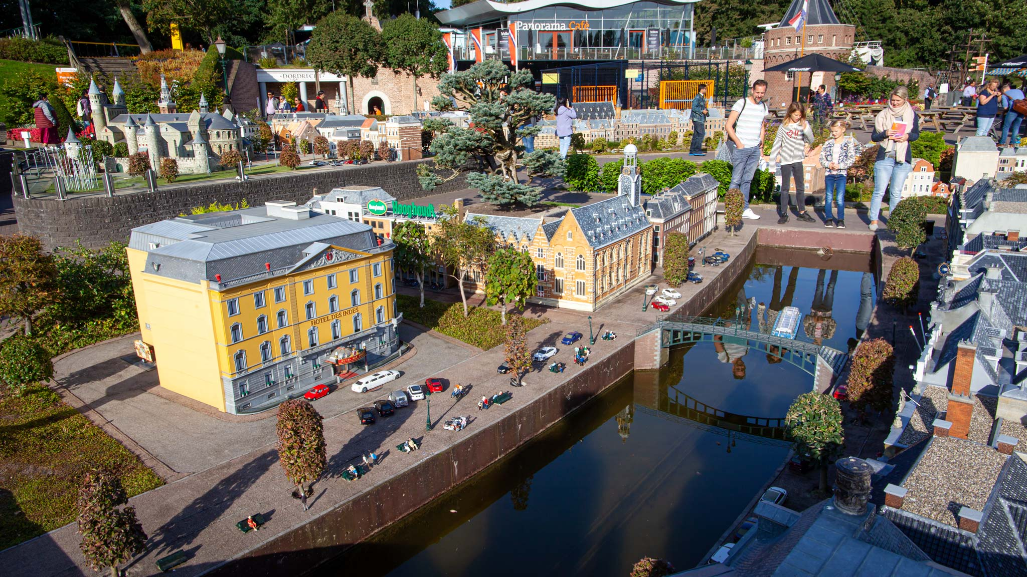 A miniature Netherlands can be found at Madurodam
