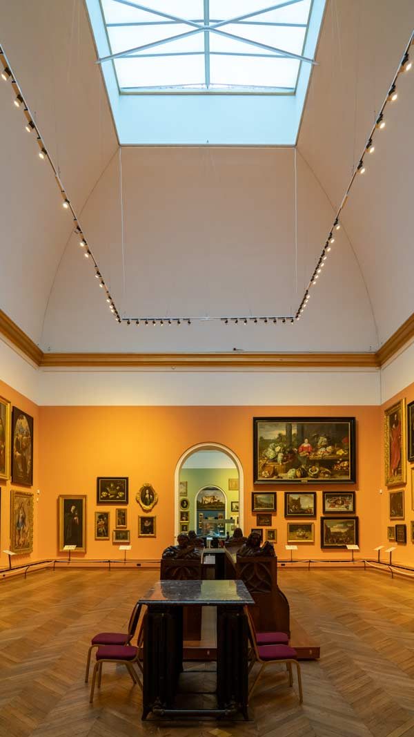 Inside the Bowes Museum