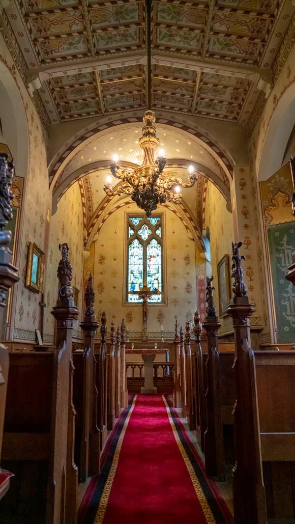 Chapel in Raby Castle