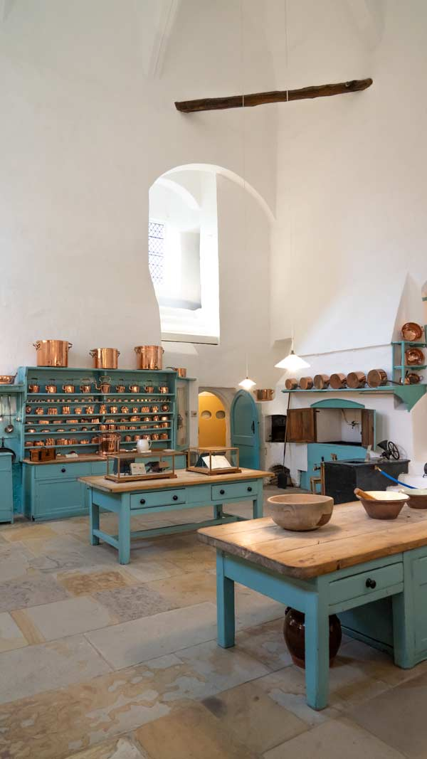 Kitchen in Raby Castle