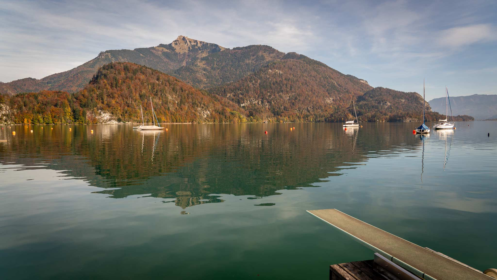 Wolfgangsee Lake steals the Salzburg side-show